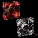 Вентилятор AV-8025T 12V Red LED